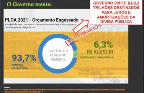 """AS MENTIRAS DO GOVERNO SOBRE A """"REFORMA ADMINISTRATIVA"""" – PARTE 1"""