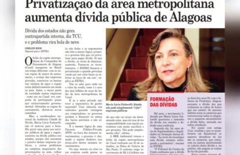Entrevista: Privatização da área metropolitana, aumenta dívida pública de Alagoas
