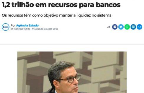 TEMOS DINHEIRO SOBRANDO PARA DOAR AOS BANCOS?, por Maria Lucia Fattorelli