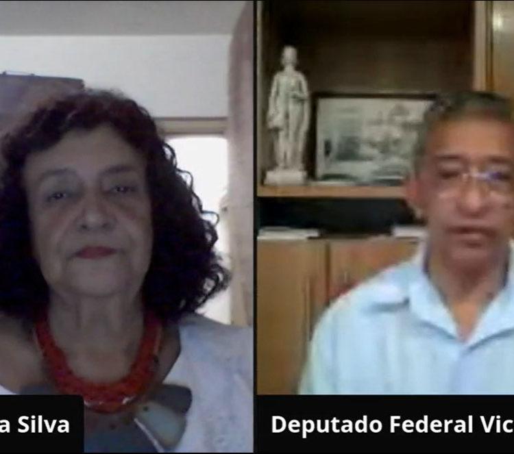 Em live, professora debate Reforma da Tributária com parlamentar