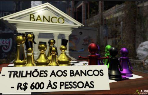 ESCASSEZ PARA A POPULAÇÃO, LUCRO PARA OS BANCOS – Vídeo 13 #EHORAdeVIRARoJOGO