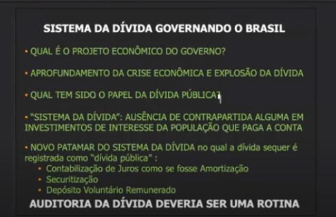 APROFUNDAMENTO DA CRISE PL 3.877/2020 e PL 19/2019 – Maria Lucia Fattorelli – Observatório de Finanças e EFC