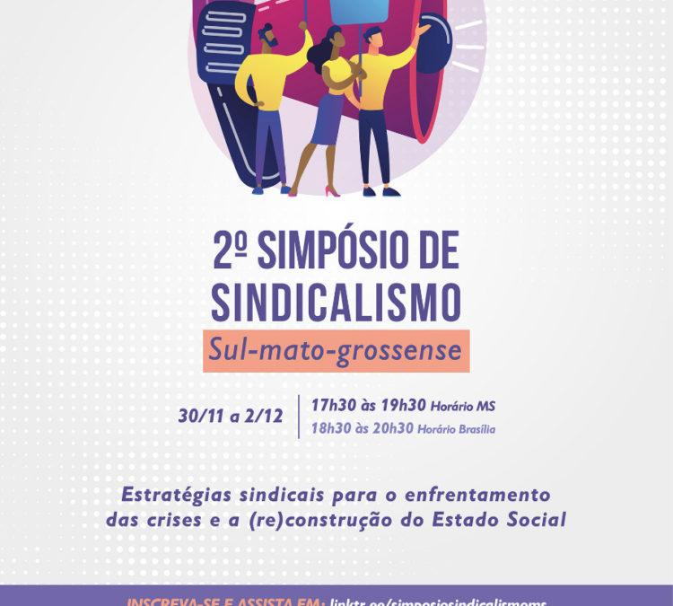 Auditoria Cidadã da Dívida participa de 2º SIMPÓSIO DE SINDICALISMO SUL-MATO-GROSSENSE
