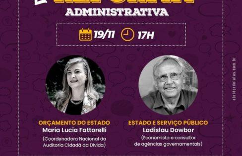 LIVE Reforma Administrativa: orçamento do Estado e serviço público