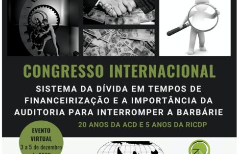INSCRIÇÃO E LINKS PARA O CONGRESSO INTERNACIONAL