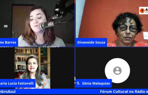Fattorelli participa de Fórum Cultural no Rádio e nas Redes