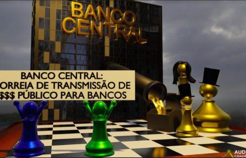 QUAL É O PROJETO DESTE GOVERNO? Destruir o Estado e transferir dinheiro do orçamento público SEM LIMITE para bancos