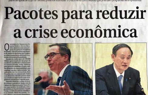 Brasil segue na contramão dos pacotes de combate à crise
