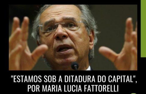 """Monitor Mercantil: """"Estamos sob a ditadura do capital"""", por Maria Lucia Fattorelli"""