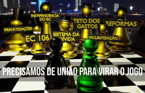 PRECISAMOS DE UNIÃO PARA VIRAR O JOGO – Vídeo 21 #EHORAdeVIRARoJOGO