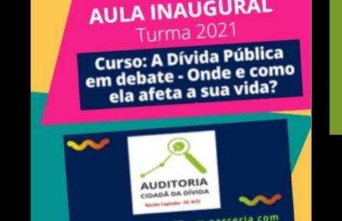 A Dívida Pública em debate – Onde e como ela afeta a sua vida – IFES Vitoria – 06/02/2021