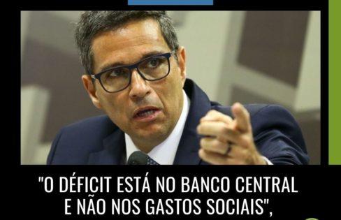 """Extra Classe: """"O déficit está no Banco Central e não nos gastos sociais """", por Maria Lucia Fattorelli"""