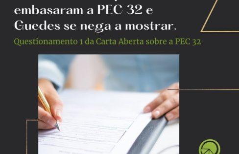 Questionamentos Sobre a Reforma Administrativa (PEC 32/2020) – Questões 1 e 2