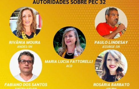 LIVE: Carta Aberta questiona autoridades sobre PEC 32