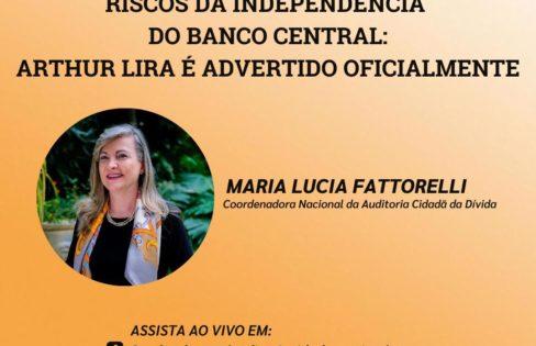 LIVE: Riscos da independência do Banco Central: Arthur Lira é advertido oficialmente