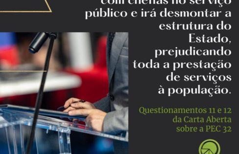 Questionamentos Sobre a Reforma Administrativa (PEC 32/2020) – Questões 11 a 14