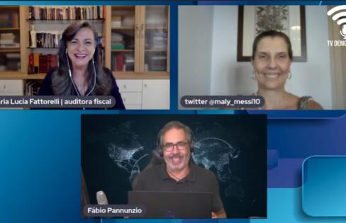 TV Democracia: Autonomia do Banco Central e entrega de Interpelação Extrajudicial – Maria Lucia Fattorelli