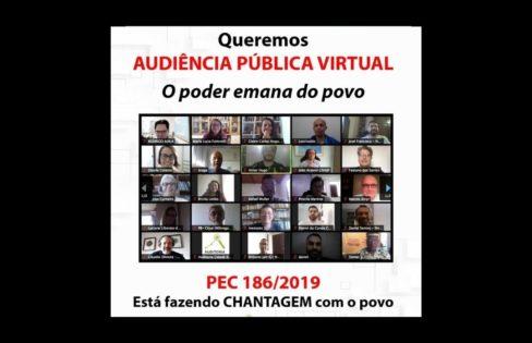 Reunião Extraordinária: PEC Emergencial, Reforma Administrativa e Dívida Pública