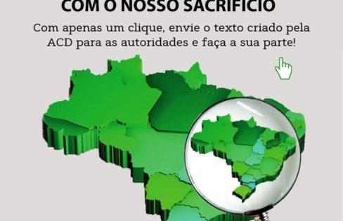 EXIGIMOS AUDITORIA DE CADA CENTAVO PAGO COM O NOSSO SACRIFÍCIO