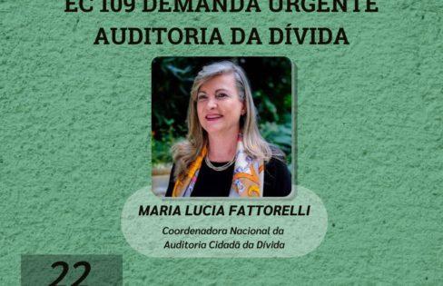 LIVE: Emenda Constitucional 109 demanda urgente Auditoria da Dívida