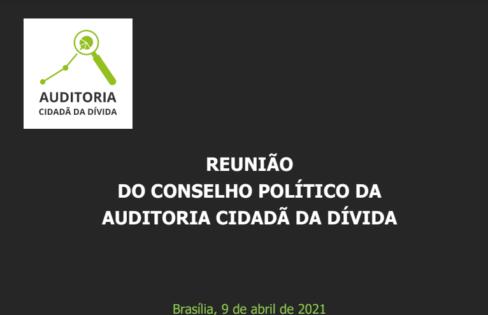 Pauta Conselho Político 09-04-2021
