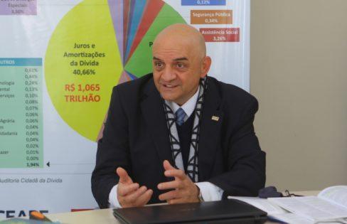 Jornal do Comércio: Dívida do RS com a União já está paga desde 2013, diz auditor Amauri Perusso