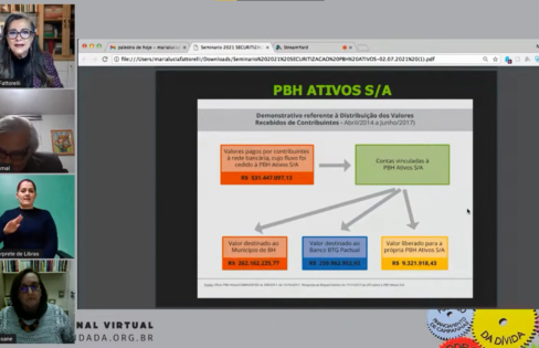 """Maria Lucia Fattorelli fala sobre """"CPI da PBH ATIVOS S/A e o esquema fraudulento da Securitização de Créditos Públicos no Município de Belo Horizonte"""" – Painel 8 do Seminário Nacional da ACD"""