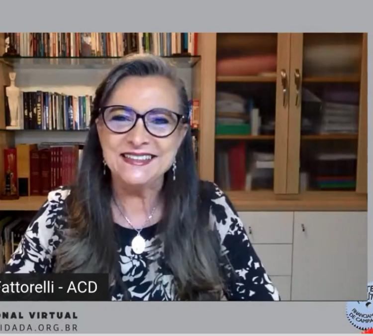 Coordenadora Nacional da ACD, Maria Lucia Fattorelli disserta sobre auditoria da dívida e mobilização social – Painel 10 do Seminário Nacional da ACD