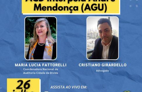 LIVE: ACD interpela André Mendonça (AGU)