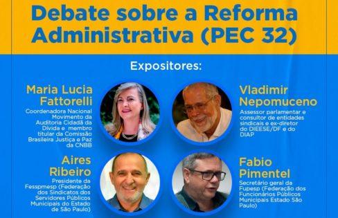 Impactos da PEC 32/2020 para os Municípios – Audiência Pública da Câmara Municipal de São José do Rio Preto