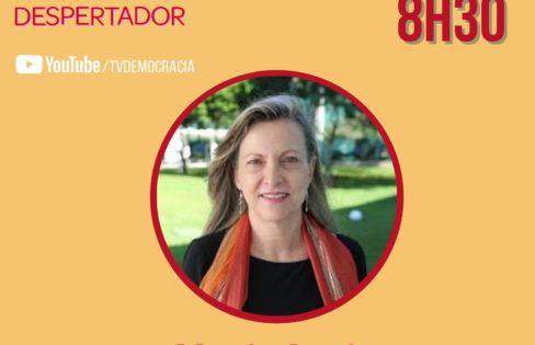TV Democracia: Maria Lucia Fattorelli no Jornal Despertador