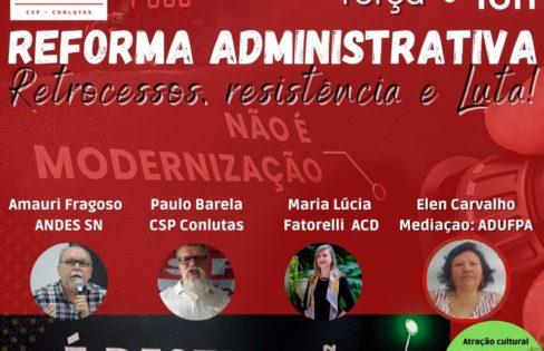 PEC 32 – Reforma Administrativa – ADUFPA