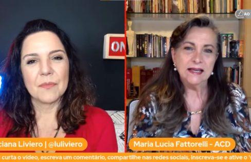 A Indignada – Fattorelli no canal da jornalista Luciana Liviero