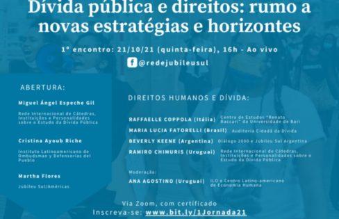 Coordenadora nacional da ACD participa de Jornada internacional que debate dívida pública e direitos na América Latina e Caribe